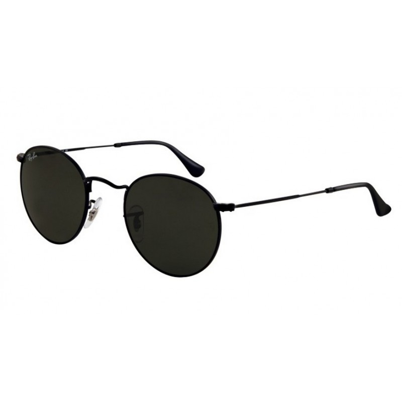 acheter populaire d97b3 6185a Ray-Ban RB 3447 002 Round Metal Noir