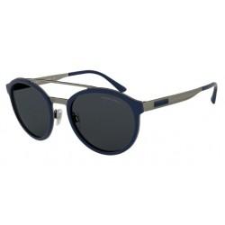 Giorgio Armani AR 6077 - 325787 Gunmetal Mat / Caoutchouc Bleu