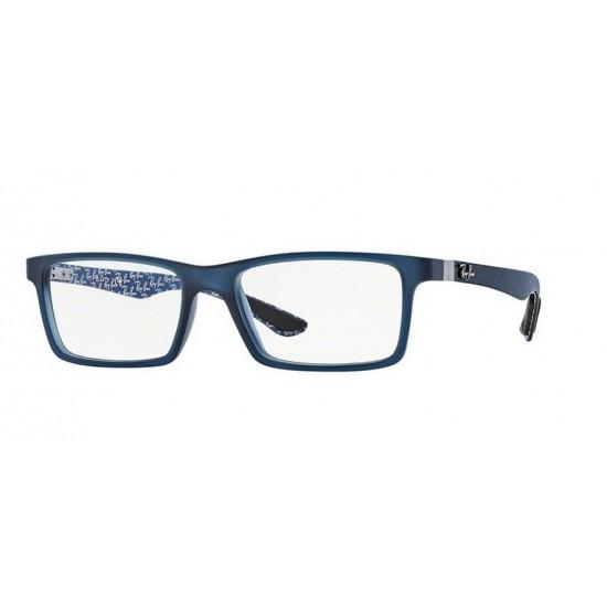 Ray Ban RX 8901 5262 Demi Brillant Bleu | Lunettes Homme